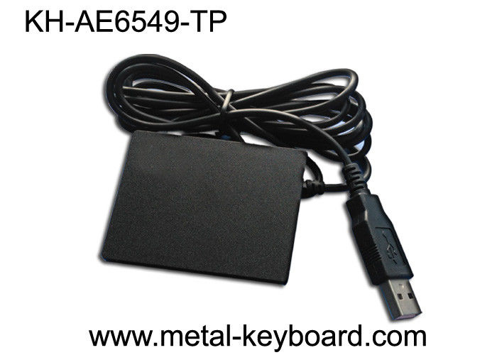 Desktop Industrial Touchpad Mouse With Velcro Sticker Pad To Be Attached Foam / Sticker