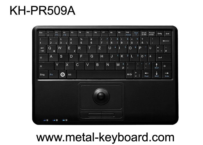 Kiosk Keyboard /  Plastic Compact Keyboard with trackball In US English Layout