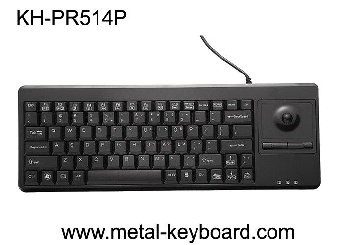 USB / PS/2 Interface Plastic Industrial Computer Keyboard with FCC, BSMI Certification