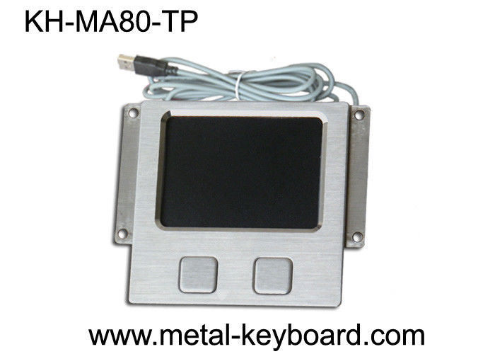 USB Connector Industrial Computer Touchpads , Water proof  Touchpad with Metal Panel