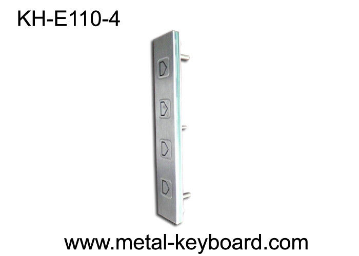 SS Rated 4 Buttons Direction Function Vandal Proof Keypad ATM/ Kiosk Side Instruction Using